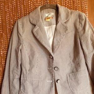 Ann Taylor LOFT Seersucker jacket 4